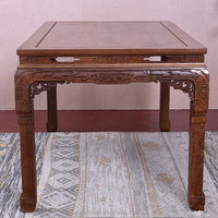 Best Selling Chinese Mahogany Furniture Antique Reproduction Wood Hand Carved Chinese Console Coffee Table For Sale