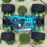 251-88pro upgrade version of 1/10 nitro powered monster remote control car toy rc truck