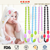 Colorful Charming Pendant Necklace/Food-safe Vogue Silicone Teething Jewelry