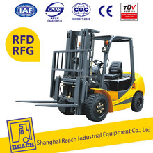 Power operated latest promotion price 1.5 ton isuzu diesel forklift truck