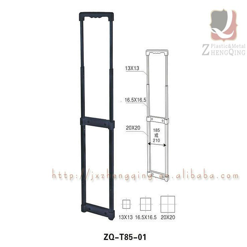 Professional Durable Luggage Telescopic Trolley Handle Parts
