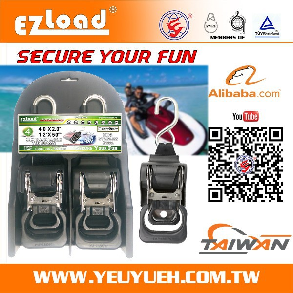 Anti Corrosion Retractable Buckle Strap for Binding Sailing Boat