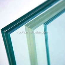 Large sizes best quality Tempered Laminated Glass for Building / Clear White Tinted Laminated Glass