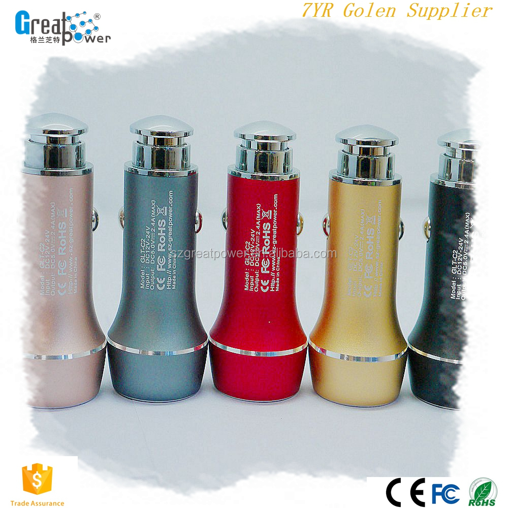 universal for Iphone,HTC,Samsung,Nokiamini usb car charger,cell phone car charger supplier & exporter & manufactory