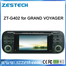 For chrysler/Jeep grand voyager autoradio 2 din bluetooth car radio gps dvd player ZT-G402