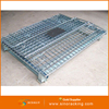 Folding Steel Storage Cage of Wire Welded Mesh Wire Boxes for sale