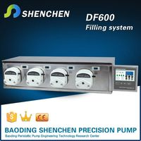 Direct current motor liquid pump filling,stainless filling machine for used water,variable speed electric oil pump filling