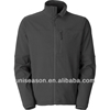 Breathable waterproof fleece bonded softshell jacket