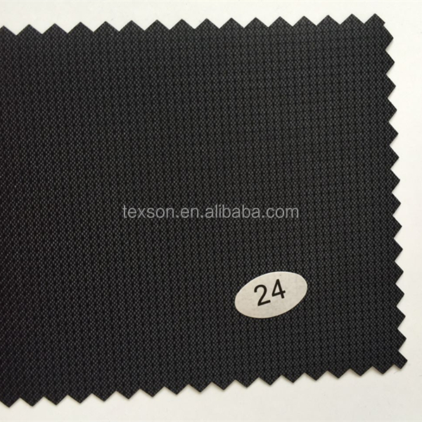 250D with PVC coated fabric woven jacquard fabric for Luggage Bags purse