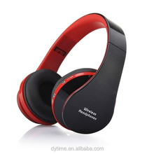 Foldable Over Ear Bluetooth 5.0 Headphones BT FM radio& TF card functions Music&phone callsl OEM