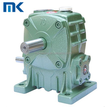 WPA series worm 1400 rpm motor speed reduce gearbox