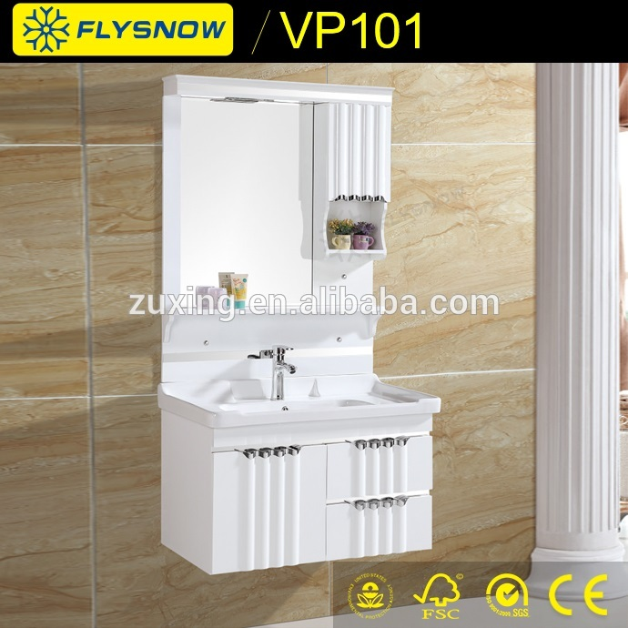 VP101 Brand new plastic medicine cabinet bathroom mirror made in China
