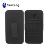 Belt combo holster cell phone case for samsung galaxy mega 6.3 i9200