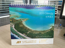 Custom offset printing desk calendar