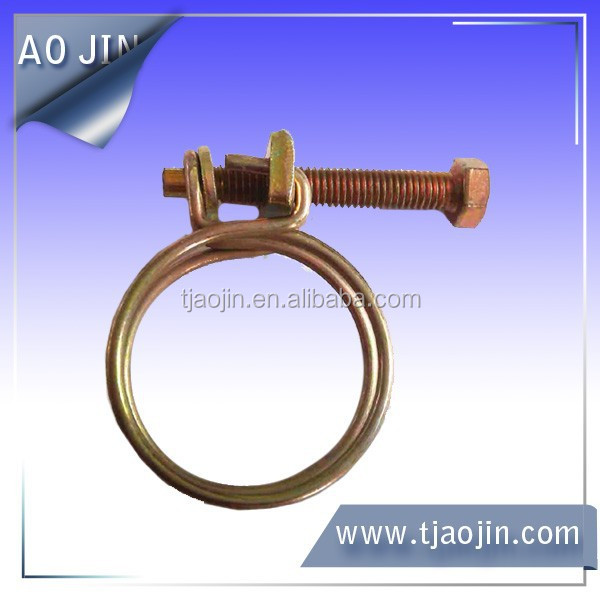 Double wire type hose clamp buy wires