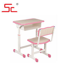 MDF student desk chair for study tables and chairs