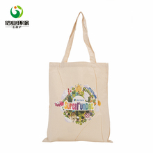 Fancy printed reusable soft loop handle burlap jute tote shopping bag