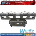 5heads rotating rgbw 4in1 bar led beam moving head