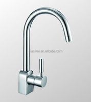 Chrome promotion product brass 8 years guarantee long neck kitchen faucet