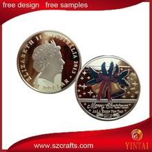 2015 Christmas gift coin commemorative coin