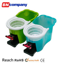 Easy Clean Reach Bule Bucket Swifter Spin Mob 360 Electric Mop