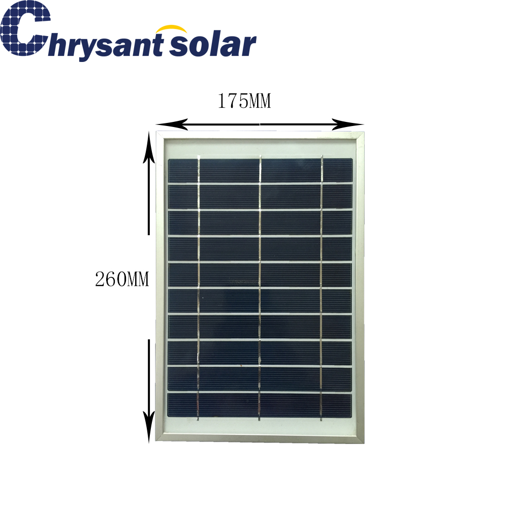 5W 5V Polycrystalline Silicon Small Solar Panel