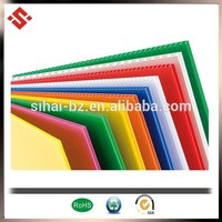 Best price high quality coroplast pp sheet plastic sheet printing sheet factory certificated by SGS/Rohs