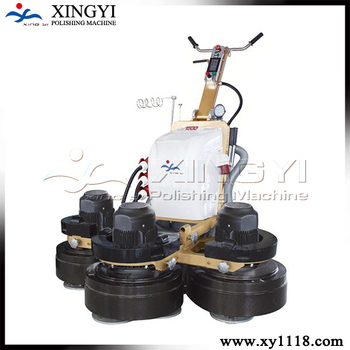 building construction concrete floor polishing machine