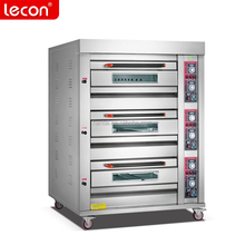 2017 Commerical Restaurant 3 Deck 6 Trays Gas Oven Bakery