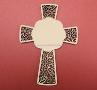 engrave wood cross religion style home decoration wood necklace cross