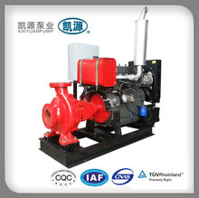 Kaiyuan XBC Fire Fighting Equipment Emergency Trailer Portable Diesel Engine Driven Fire Hydrant Sprinkler Pump