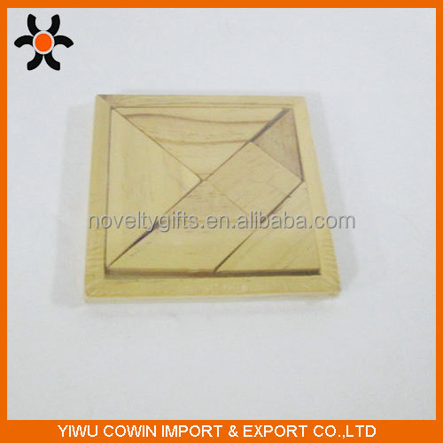 2016 Wooden tangram toy,wooden educational toys,wooden tangram puzzle
