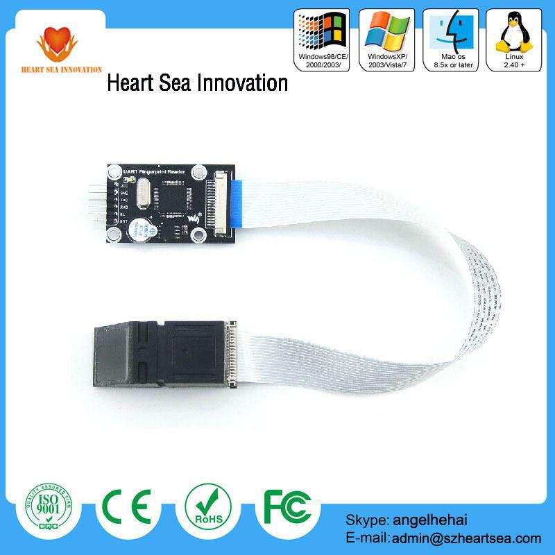 Latest technology oem fingerprint biometric sensor reader module