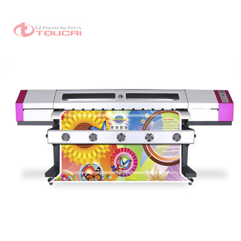New Model 1.6m to 3.2m 5ft -10ft eco solvent Galaxy UD printer with dx5 print head