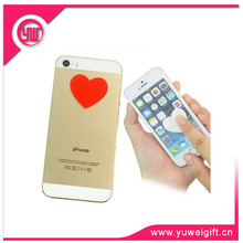 Red Heart Shape Mobile Phone Screen Cleaner Charm For Lovers