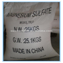 Good uses salt magnesium sulphate heptahydrate