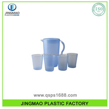 Household Customized Color Thread Plastic Water Pitcher With Lid