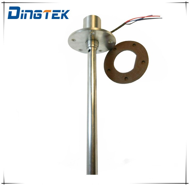 F300 Ultrasonic water tank level sensor/water density sensor with analog digital output signal