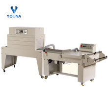 semi automatic L bar sealer with shrink tunnel machine good price