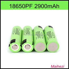 18650 PF 2900mAh battery 3.7V rechargeable NCR18650 PF battery for flashlight