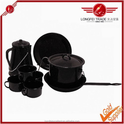 Professional production porcelain enamel cookware made in china