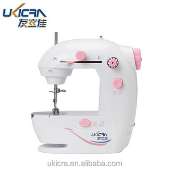 Compact electric household mini sewing machine CBT-0307 with drawer