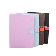 2017 new for iPad air mini 123 candy color leather table case pro 9.7 buckles flip case