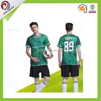 Wholesale cheap custom football jersey soccer uniform kits made in china