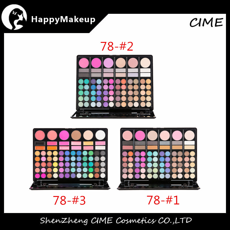 Wholesale Print Logo Small Quantity 180Color Matte Eyeshadow Make Up Eye Shadow Palette