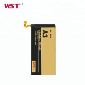 Lithium-ion 1900mah long lasting mobile phone internal battery for Samsung A3
