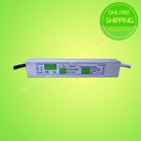 20W 12V IP67 Waterproof LED Power Supply For LED Strip