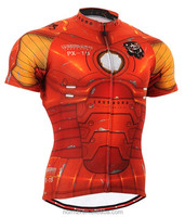 Small MOQ Printing bicycle shirt,unique cycling jersey