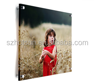 6x8 / 8x6 Acrylic block photo frame