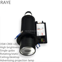 35w enough lumens super brightness crispy logo projector LED 80w